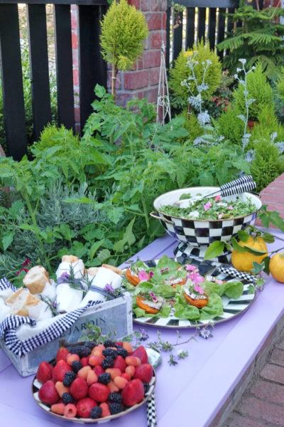 Lunch…Garden Style!